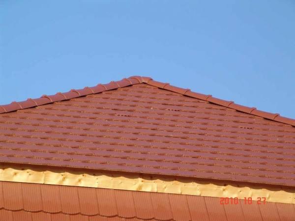 Creaton Hortobágy tetőcserép Nuance rézvörös engóbozott