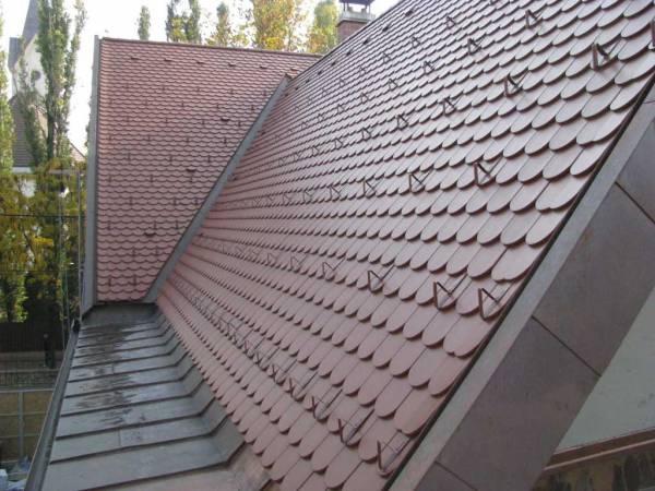 Creaton Klassik tetőcserép Nuance rézvörös engóbozott