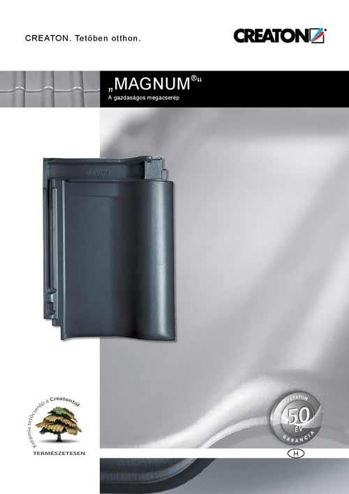 Creaton Magnum tetőcserép katalógus